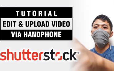 Upload Video di Shutterstock